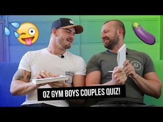 Pornstar Couple OZGYMBOYS Do The XXX Rated Couple's Quiz!