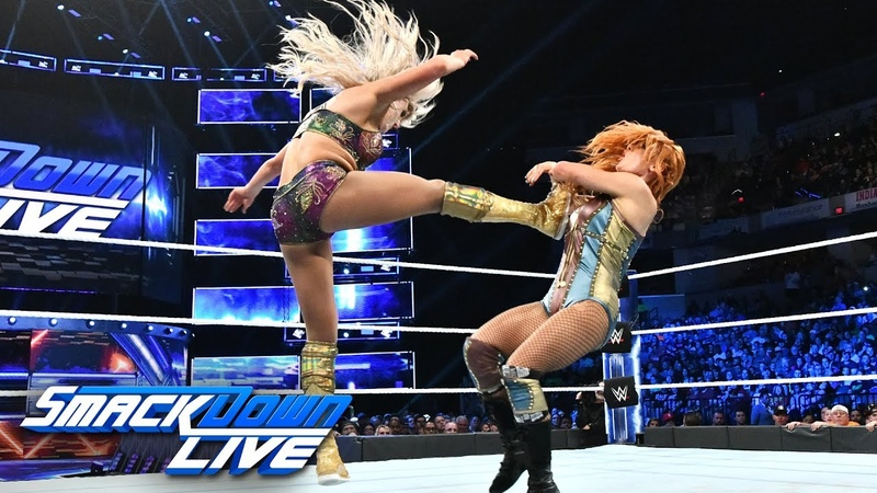 Becky Lynch vs. Charlotte Flair - SmackDown Women's Championship Match: SmackDown LIVE, Oct. 9, 2018