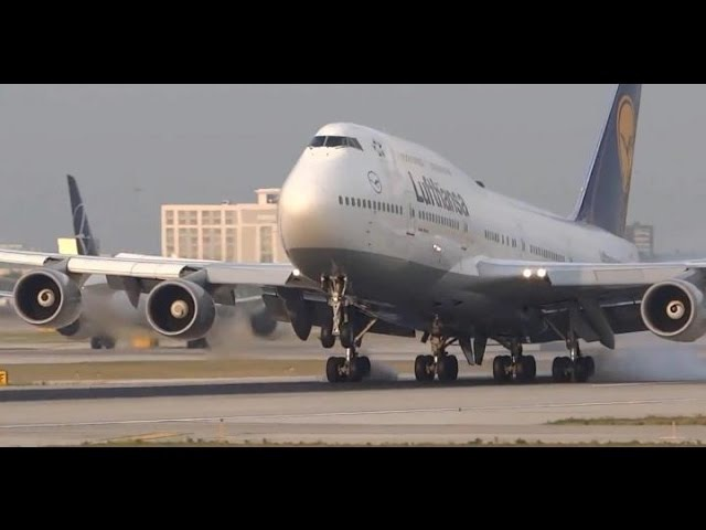 (HD) 50 Minutes of Plane Spotting - Watching Airplanes at Chicago O'Hare International Airport