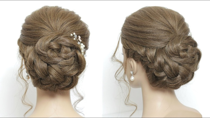 Perfect Bun Hairstyle For Long Hair Tutorial. New Juda Style