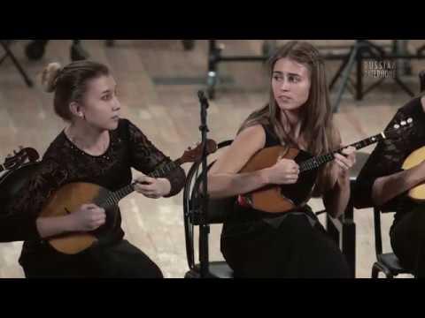 То не ветер ветку клонит - УНИСОН ДОМРИСТОВ / Unison of domrists plays Russian Folk Song theme
