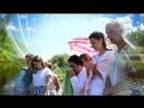Голубое небо белые одежды чистая озерная вода