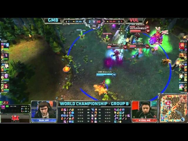 Gambit vs Vulcun @ S3WC Group 2 ThrowBargains