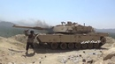The Yemeni Houthis captured and burned the Saudi M1A2S Abrams tank in Jizan