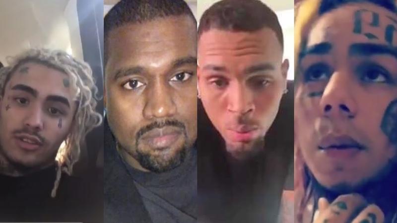 Celebrities React to Xxxtentacion Death - Lil Pump Reaction, 6ix9ine, Kanye West, J Cole