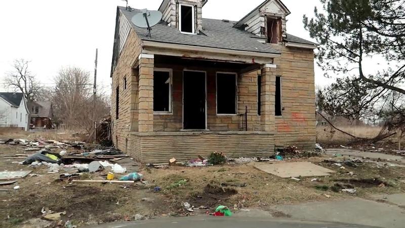 Детройт (Мичиган, США), разруха гетто реп, часть 2 eminem