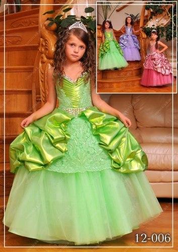 Красивые детские платья на новый год