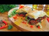 Два с половиной повара. Открытая кухня. Выпуск 24. Мужская закуска: сэндвичи со стейком и креветки в темпуре с чесночным соусом айоли!