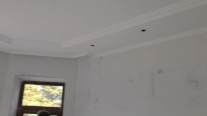 Часть 2! Натяжные потолки . Бумажные потолки . Потолок из гипсокартона