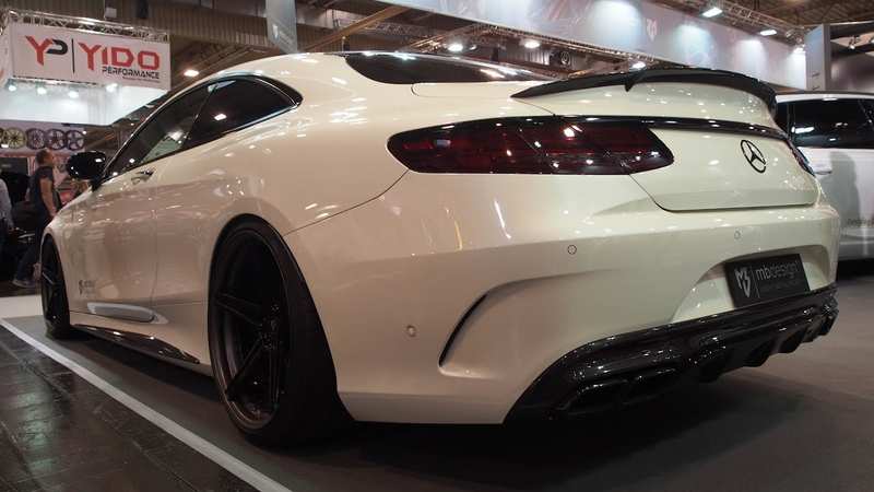 Mercedes Benz s63 AMG Coupe Tuning mbDESIGN KV1 3