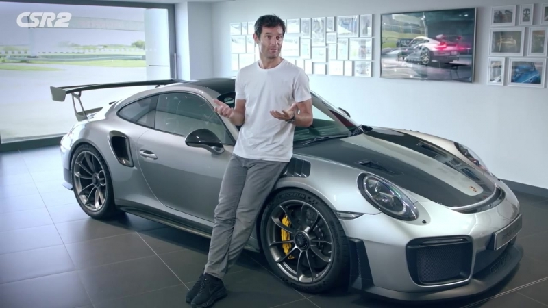 CSR2 – Mark Webber on GT2 RS and Porsche Motorsport