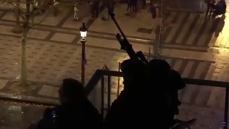 02.12.18 Macron: Setzt Europäische Menschenrechtskonvention Artikel 2c um - Vereinigte Scharfschützen Bewegung