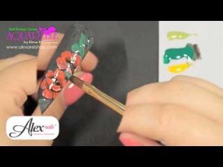 Онлайн курс жостовской росписи гелевыми красками Alex Nails