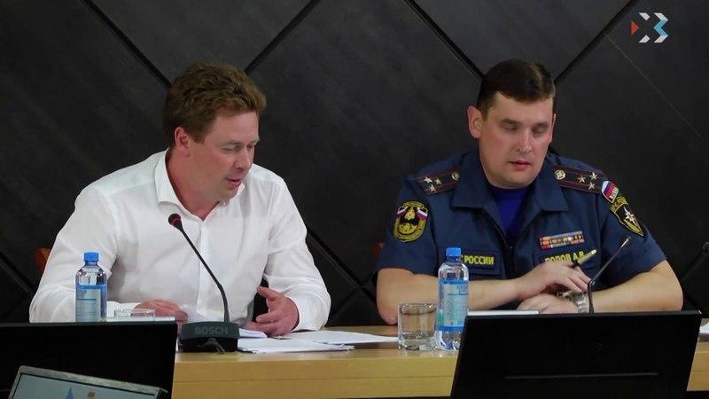 Губернатор лично контролирует соблюдение требований противопожарной безопасности