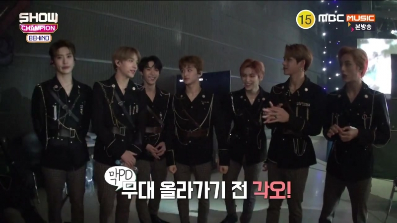 180317 NCT U @ Backstage Show Champion