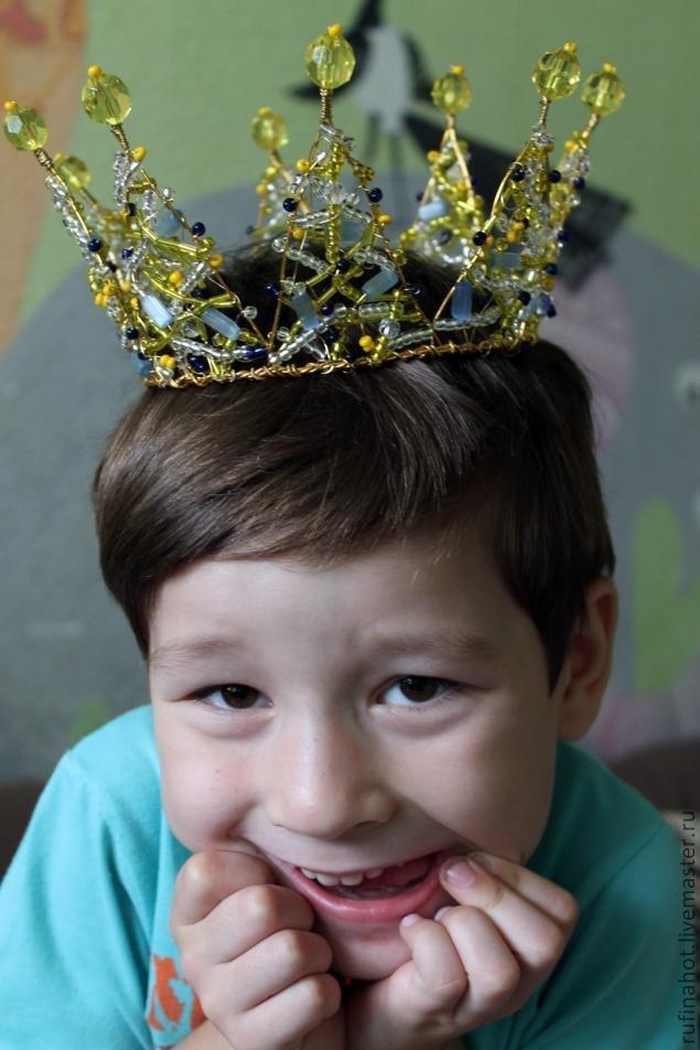Корона для короля своими руками фото