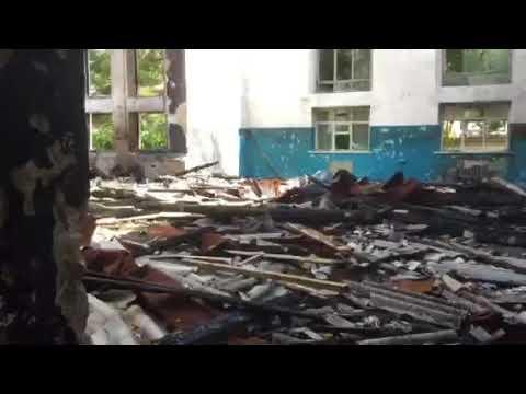 Приморско Ахтарск зачем сожгли ДСШ