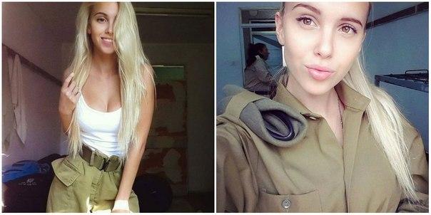 Мария Домарк — рядовой израильской армии: ↪