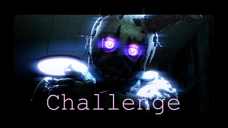 [FNAFSFM CHALLENGE For CyberZ] Never Wake Again Short.