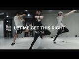 1Million dance studio Let Me Get This Right - Ne-Yo / Junho Lee Choreography
