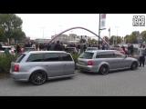 Audi RS4 Avant B5 with custom RS4 Car Trailer!