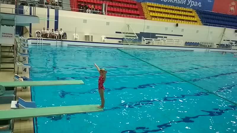 Доча. Открытый чемпионат и Первенство Челябинской области по прыжкам в воду с 1 метра (2)