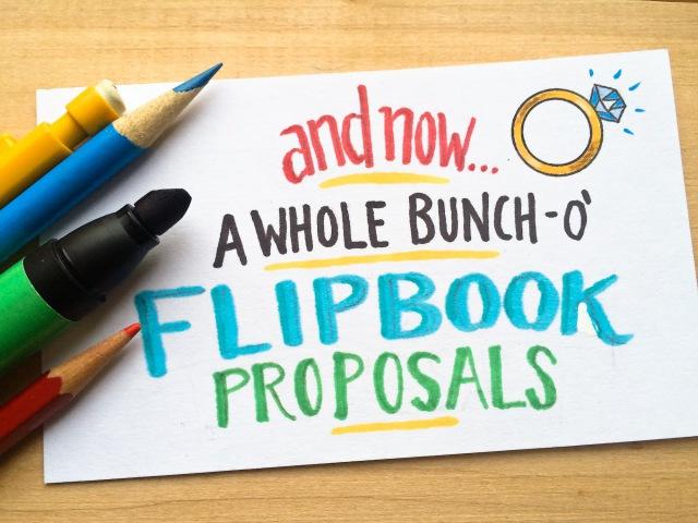 Marriage Proposal Flipbook Compilation