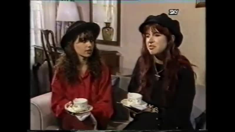 The Bangles - Walking Down Your Street Live 1988 Interview