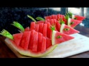 HOW TO QUICKLY CUT AND SERVE A WATERMELON BIRDS !!