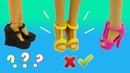 ОБЗОР. Кукольная обувь. Каким куклам Барби она подойдёт