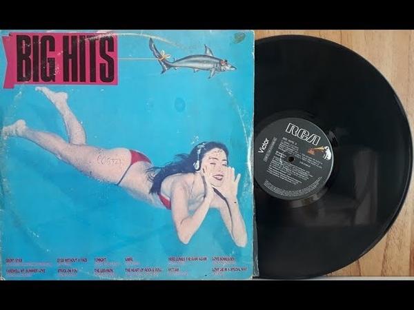 Big Hits 3 - Coletânea Pop Internacional - (Vinil Completo - 1984) - Baú Musical
