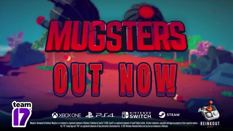 Mugsters - Launch Trailer (Steam, PS4, Xbox One, Nintendo Switch)