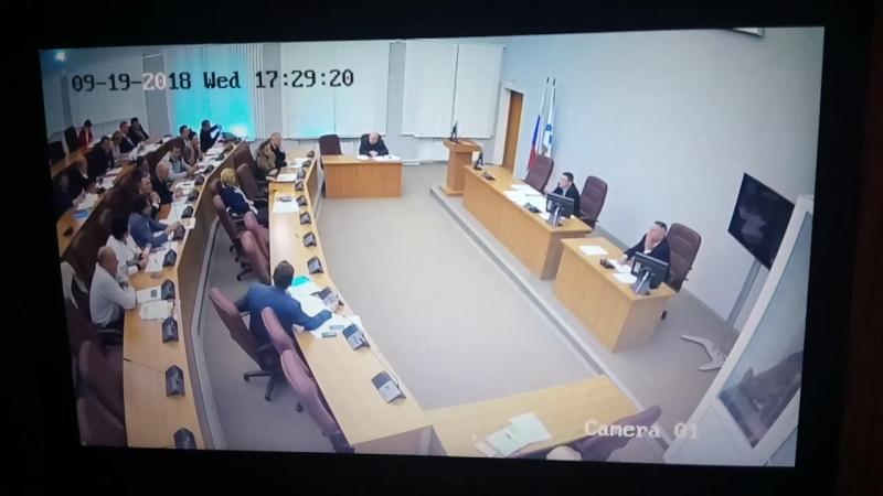 Интересное видео от 19 сентября 2018 года нашли в сети.2