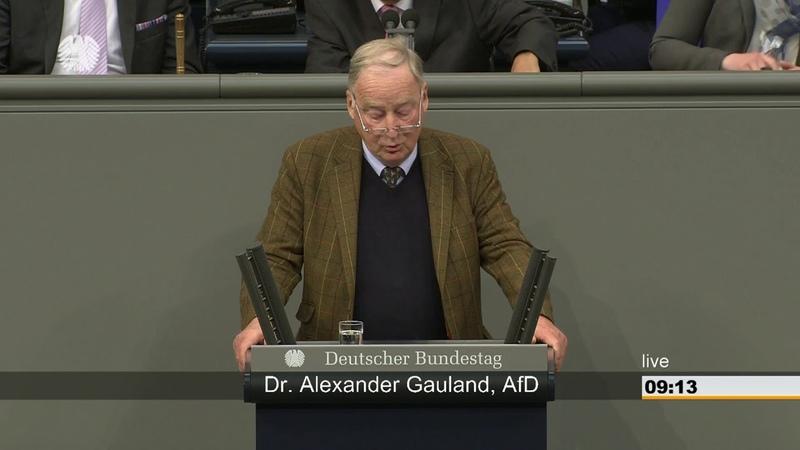 AfD Bayern Dr Alexander Gauland - Israel ist für uns kein Staat wie jeder andere