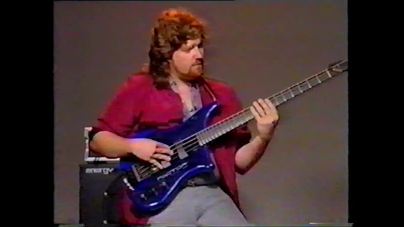 Stuart Hamm - Slap, Pop and Tap For The Bass Урок игры на бас-гитаре. Русский перевод.