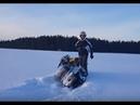 Застряли на снегоходах yamaha venture Polaris rmk BRP tundra глубокий снег
