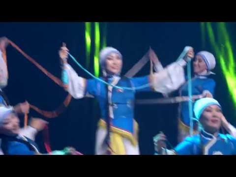 2 TUVAN FOLK DANCE Ensemble SAYANI TOUVA Ансамбль Саяны