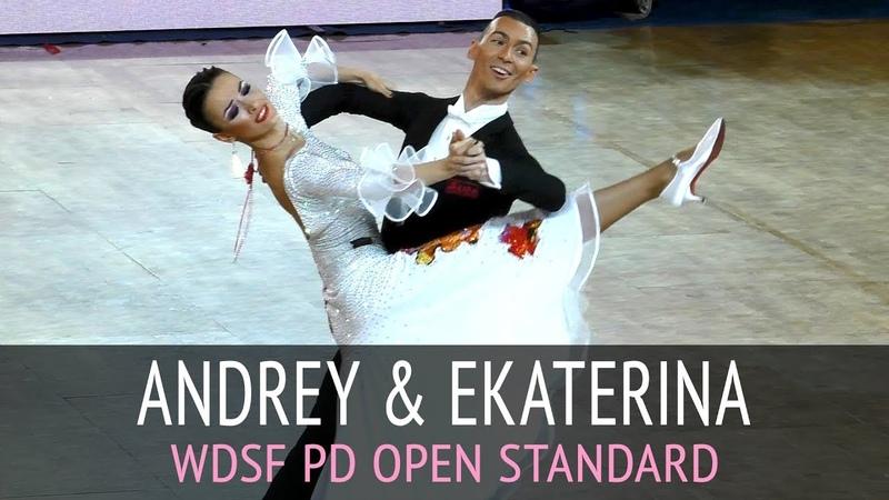 Андрей Мотыль - Екатерина Ким | Вальс | WDSF PD Open Standard - Открытый Чемпионат России 2017