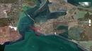 Строительство порта Тамань на берегу Чёрного моря