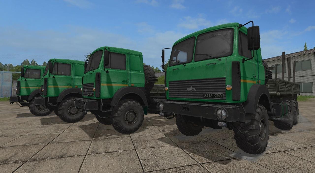 МАЗ-6317 V2.3.2 GEAR BOX