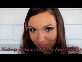 Makeup idea for Love in Paris Naked palette