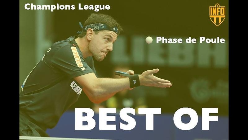 Table Tennis | BEST OF CHAMPIONS LEAGUE |PHASE DE POULE 2018/2019 | HIGHLIGHTS