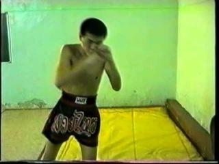Цындымеев Жаргал. Бой с тенью. Видео для рекламы матчевой встречи Улан-Удэ vs Ангарск