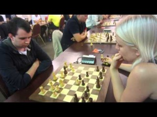 chess blitz GM Maslak  -  WIM Bivol