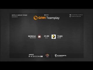 Nemiga vs. TLWK II QIWI Teamplay Season 2. Closed Quali II bo2 by Skor