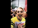 Блонди и Кузя на Milkshake Festival