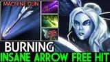 BurNIng [Drow Ranger] Insane Arrow Free Hit Cancer Carry Meta 7.20 Dota 2