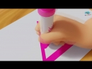 Learn Colors and Shapes - Drawing Shapes With Crayons - Best Learning Video for Kindergarten