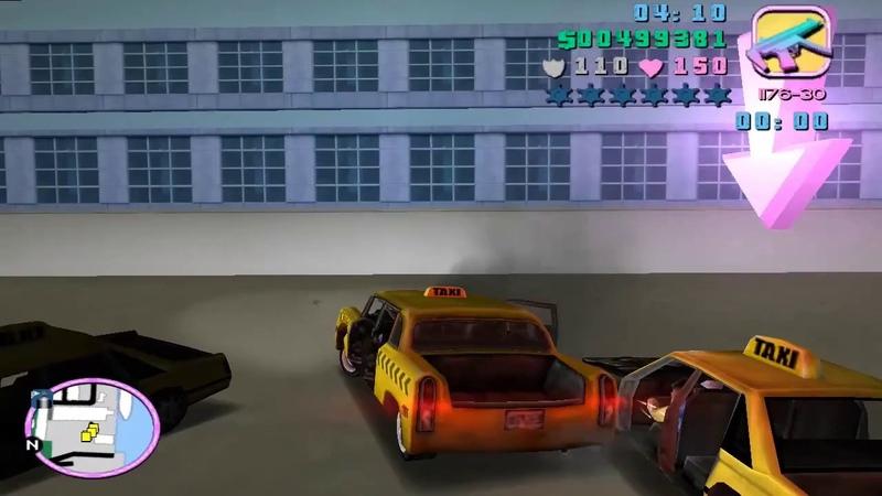 GTA_Vice City - Кеб магеддон (Миссия38)