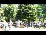 Открытие памятника Герою России Владимиру Елизарову. Тверь, 28 мая 2018
